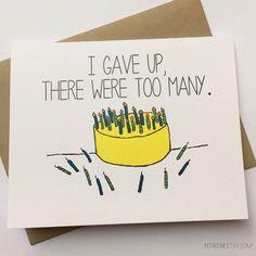 Funny Happy Birthday Card - Snarky Birthday Card - Friend Birthday - Birthday for Friend  A funny and snarky birthday card, for a friend, loved one,