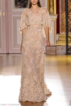 High Quality High Collar Lace Zuhair Murad Evening Dresses 2014 Winter Formal Prom Dresses for Juniors Hayden Perez Couture Mode, Couture Fashion, Glamour, Fashion Week, Fashion Show, Net Fashion, Paris Fashion, High Fashion, Zuhair Murad Bridal
