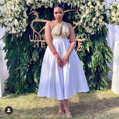 Setswana Traditional Dresses, South African Traditional Dresses, Traditional Wedding Attire, Latest African Fashion Dresses, African Print Dresses, African Print Fashion, African Dress, African Prints, Seshweshwe Dresses