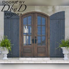 Doors by Decora builds a large selection of custom French Country Doors. All of our French Country Doors are designed just for you. French Country Exterior, French Country Farmhouse, French Cottage, French Country Style, French Country Decorating, Cottage Pie, Top Country, Cottage Decorating, Cottage Design