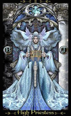 The High Priestess card - Tarot Illuminati