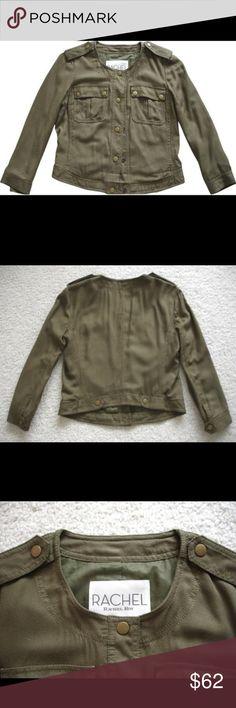 Rachel Roy Military Jacket Front length 20/ Front length slightly longer than back/ 100% Viscose Rachel Roy Jackets & Coats