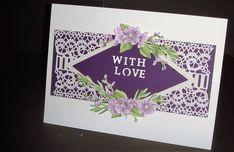 With Love / Happy Birthday I Card, Happy Birthday, Love, Projects, Happy Brithday, Amor, Log Projects, Blue Prints, Urari La Multi Ani