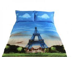 Eiffel Duvet Cover Set