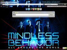 Mindless Behavior Browser Theme for Chrome
