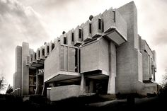 Clark University's Goddard Library in Worcester, Mass., 1969