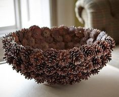 DIY Pine Cone Heart - Pine Cones are a great material for wreaths. Online source and sale of pine cones and pine needles. Pine cones for crafts, art and decor. Heart Shaped Pine Cone Wreath Rustic decor Wreath by F Pine Cone Art, Pine Cone Crafts, Pine Cones, Homemade Food Gifts, Homemade Christmas Gifts, Christmas Crafts, Xmas, Merry Christmas, Cheap Christmas