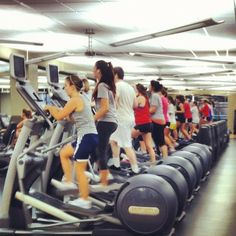 Twitter / MURecreation: Busy night at the Rec!! #fitwv ...
