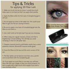 d2abed1582e tips and tricks Mascara Tips, Mascara Younique, 3d Fiber Mascara, 3d Fiber  Lashes