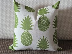 Pillow Covers green pineapple pillow cover by sweetystore on Etsy