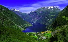 Norway and the fiords! I've been to fiordland in NZ but not in our neighbouring and beautiful Norway.