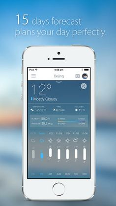 MoWeather - Forecast and Temperature Planner