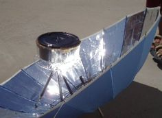 DIY: HOW TO BUILD YOUR OWN UMBRELLA SOLAR COOKER