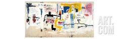 Per Capita, 1981 Giclee Print by Jean-Michel Basquiat at Art.co.uk