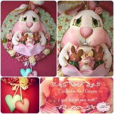 Coelha de páscoa + amanda pin