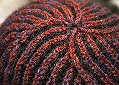 Brioche tutorial, incl. Brioche Stitch in the Round (or English Ribbing stitch).