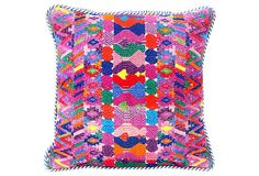 Square Huipil Pillow on OneKingsLane.com