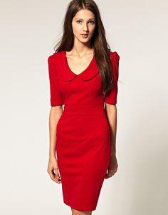 | red dress |