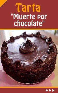 #receta #tarta #chocolate Tarta Muerte por chocolate