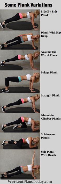 Plank Variations