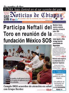 Participa Neftalí del Toro en Reunión de la fundación México SOS. http://noticiasdechiapas.com.mx/