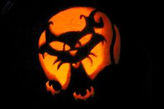 Patterns of cat carved into a Halloween Pumpkin. A huge collection of samples. Cat Pumpkin Carving, Halloween Pumpkin Stencils, Halloween Pumpkin Carving Stencils, Pumpkin Carving Patterns, Pumpkin Art, Halloween Pumpkins, Pumpkin Ideas, Pumpkin Carver, Cat Pattern