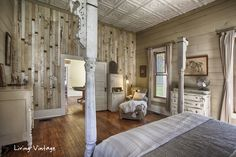 Scrap Wood Statement Wall - wow!//this home is incredible, an incredible amount of salvaged materials used
