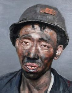 2005-2006 COAL MINER -- Xu Weixin (徐唯辛; b1958, Urumqi, Xinijiang Province, China)