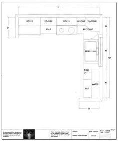 Diy Cabinet Warehouse Sample 10x10 Kitchen Floor Plan