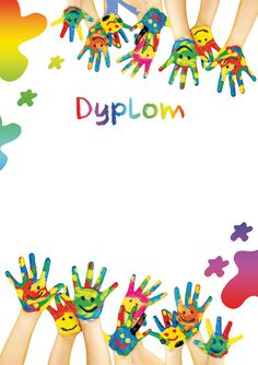 Zaprojektuj swój niepowtarzalny dyplom Page Borders, Borders And Frames, Diy Crafts How To Make, Crafts For Kids, Happy Holi Images, School Border, Baby Photo Frames, Free Doodles, School Frame