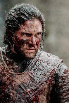 "♕ Jon Snow in Game of Thrones Episode 6.09 ""Battle of the Bastards"""
