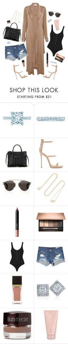 """⋆"" by xoxomirah ❤ liked on Polyvore featuring Tiffany & Co., Balenciaga, Giuseppe Zanotti, Christian Dior, Jennifer Meyer Jewelry, NARS Cosmetics, Topshop, rag & bone, Tom Ford and Laura Mercier"