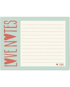 From the Heart Personalized Stationery. Ha ha ha it's from you Beany!! @clairestone