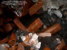 Goethite, psm after Siderite, Wheal Drea, Kenidjack Valley, St Just, St Just District, Cornwall, England, UK. Fov 4 mm. Copyright:Richard De Nul