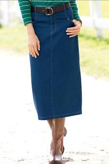Calcutta Cloth Split Skirt | Blair | Modest Clothing | Pinterest