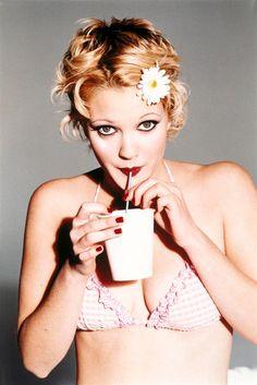Ellen von Unwerth + Drew Barrymore = magic. http://www.thecoveteur.com/happy-birthday-drew-barrymore/