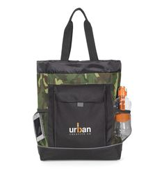 Transitions Camo Backpack Tote Bag