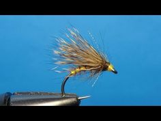 Tying the Golden Olive Streaking caddis with Barry Ord Clarke - YouTube