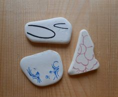Sea pottery ceramica di mare bianca disegni di lepropostedimari