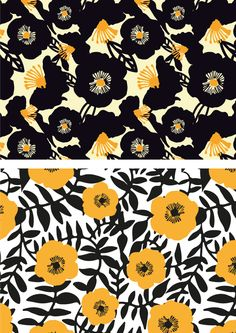 Patterns by sarah edith, via Behance