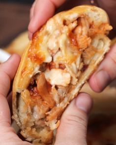 BBQ Chicken Calzone