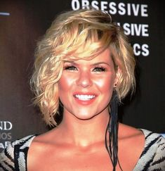 +30 Best Short Blonde Curly Hair