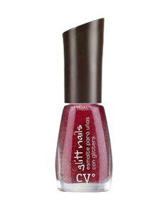Cyº glitt nails de Cyzone - Más glitter por favor! (Tono Rubi Glitt)  #PrimerasVecesbyCyzone  Hermosos detalles en tus manos, que iluminaran con sus destellos