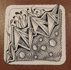 Dentangles, a collection of Zentangle and thoughts. Zentangle Drawings, Zentangle Patterns, Zentangles, Sketch Journal, Shade Trees, St Patricks Day, Tangled, Doodles, Artist