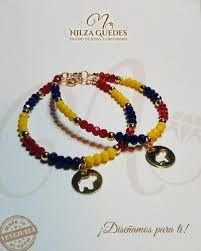 Resultado de imagen para pulseras de venezuela Diy Jewelry, Women Jewelry, Bracelet Patterns, Wire Wrapping, Women's Accessories, Craft Projects, Beaded Bracelets, Arts And Crafts, Macrame