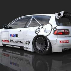 Pandem Rocket Bunny – Honda Civic Hatchback (EG) 92-95