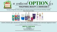 Toxin Free Family- How to clean out your chemicals and start living healthy! 13-YL-Toiletries