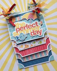 Albums Scrapbooking Kits and Custom Designed Scrapbook Albums by Traci Penrod: A Perfect Summer Mini Album Mini Albums, Mini Photo Albums, Mini Album Scrapbook, Scrapbook Cards, Scrapbook Templates, Album Book, Copics, Scrapbook Paper Crafts, Mini Books