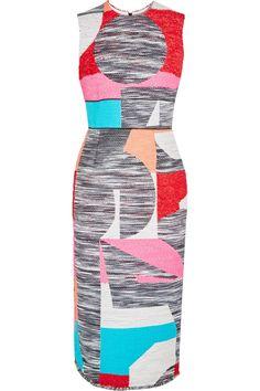 ROKSANDA Vorley bouclé midi dress. #roksanda #cloth #dress