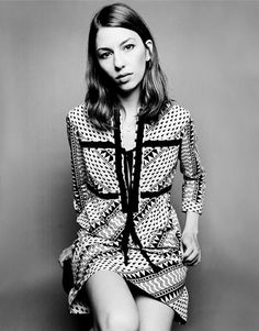 Film director Sophia Coppola - I love the aesthetics in her movies and her great sense of style in real life